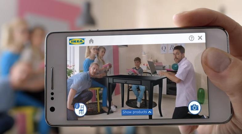 Aplicação IKEA Realidade Aumentada