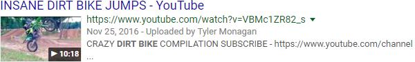Meta Descriptions vídeos